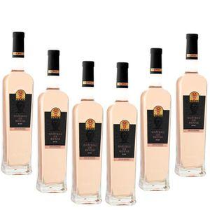 VIN ROSÉ Lot de 6 Château de Berne rosé 2017
