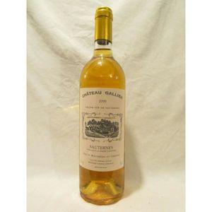 VIN BLANC sauternes château gallien liquoreux 1999 - bordeau