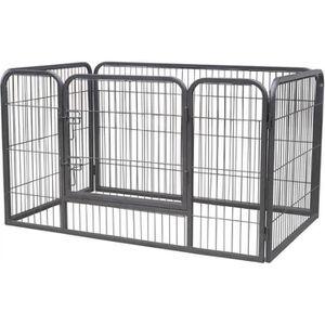 parc pour chien achat vente parc pour chien pas cher cdiscount. Black Bedroom Furniture Sets. Home Design Ideas