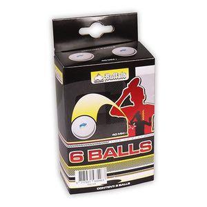 BALLE TENNIS DE TABLE Buffalo set de balles de ping pong 6 pièces