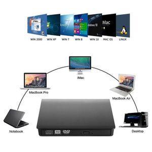 LECTEUR - GRAVEUR EXT. CABLING® Lecteur  DVD CD Externe USB 3.0 Ultra Sli