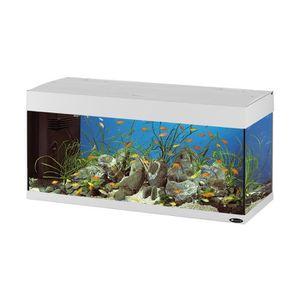 AQUARIUM DUBAI 100 Aquarium en verre blanc 101x41x53 cm
