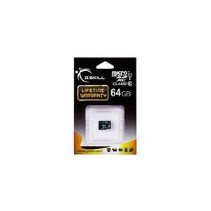 CARTE MÉMOIRE Carte Mémoire G.Skill microSDXC 64 GB noir, Class