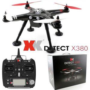 DRONE XK X380 DETECT Carbone - Drone Radiocommandé avec