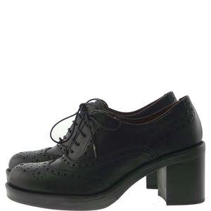 MOCASSIN Pons Quintana Lace Shoes Femme Black