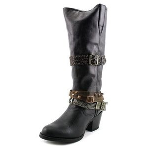 92b05caf741 BOTTE Chocolat Femmes Philly Accessorized Western Boot b
