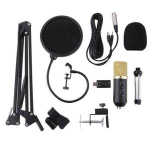 MICROPHONE DJ-Youtubeur-Live-PRO Kit de Microphone à condensa