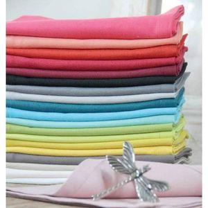 serviette de table tissu achat vente serviette de table tissu pas cher soldes d s le 10. Black Bedroom Furniture Sets. Home Design Ideas
