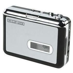 BALADEUR CD - CASSETTE CONVERTISSEUR USB MP3 POUR K7 CASSETTE AUDIO