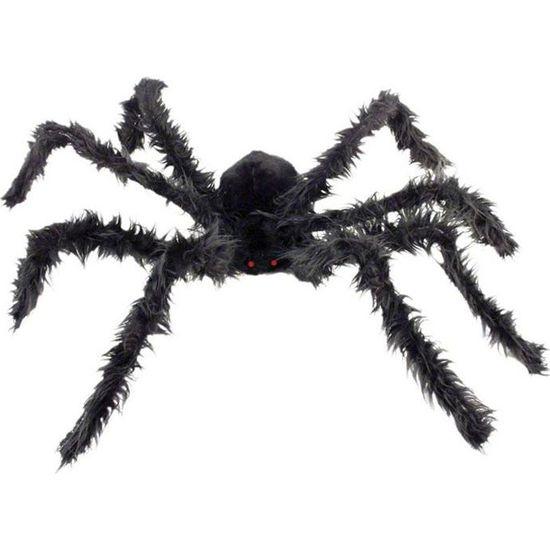 Image Araignée Halloween araignée géante avec yeux lumineux halloween (1… - achat / vente