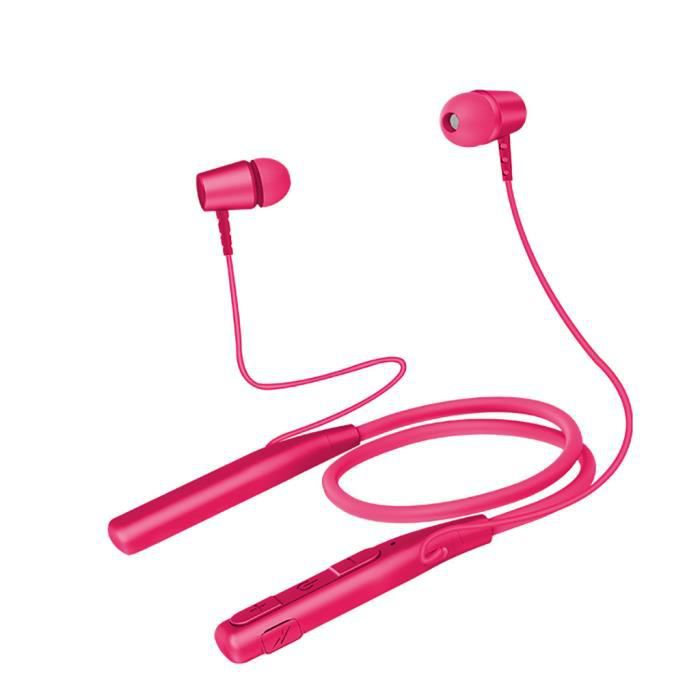 Hanging Sport Cou Bluetooth Écouteurs Oreille Métal Shell Super Bonne Qualité Sonore @hot5043