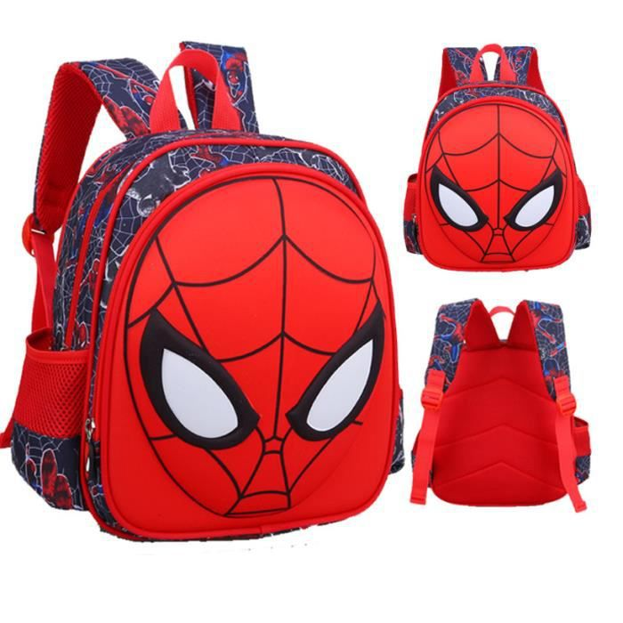 Sac ecole spiderman - Achat   Vente pas cher a91ffbe9655