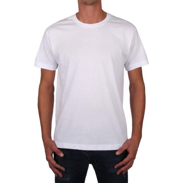 3b67ad05fac Lot tee shirt blanc - Achat   Vente pas cher