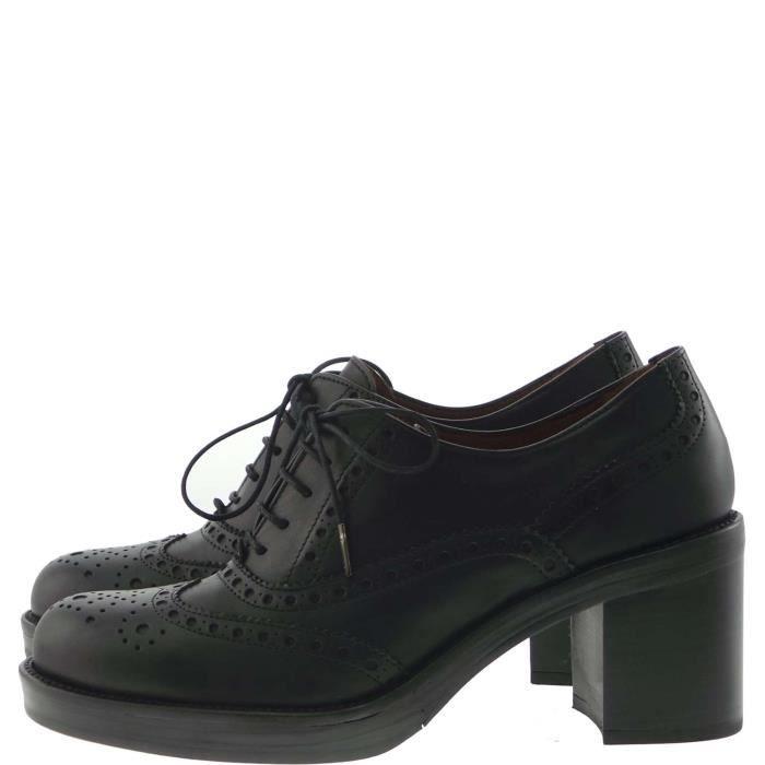 Pons Quintana Lace Shoes Femme Black
