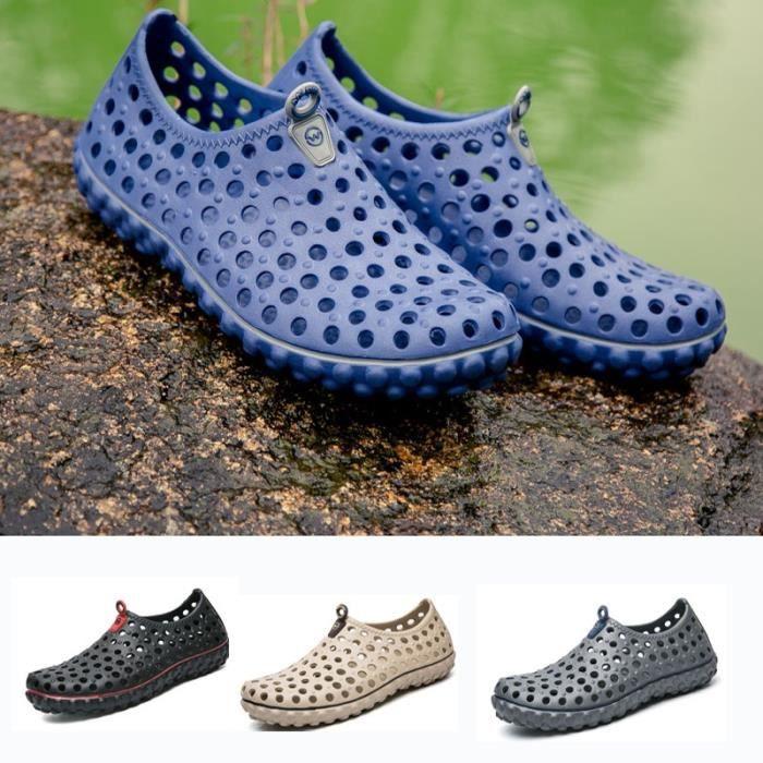 Mode d'été Slip-on Chaussures Sandales imperméables pour homme