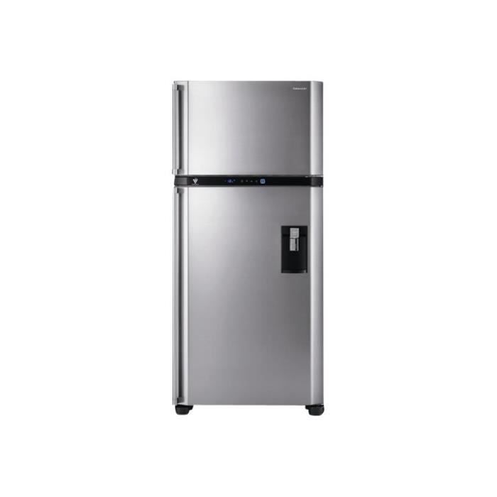 Sharp SJPD691S - Réfrigérateur-congélateur - pose libre - largeur ...