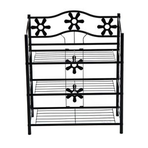 etagere fleurs achat vente etagere fleurs pas cher cdiscount. Black Bedroom Furniture Sets. Home Design Ideas
