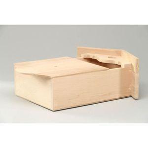 boite a cle bois achat vente boite a cle bois pas cher cdiscount. Black Bedroom Furniture Sets. Home Design Ideas