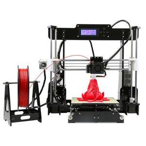 IMPRIMANTE 3D Anet A8 Imprimante 3D d'ecran LCD Acrylique Cadre