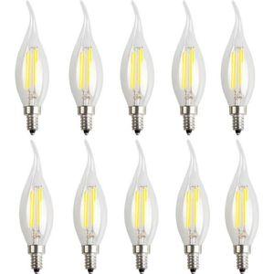 AMPOULE - LED 10X E14 Filament Ampoule 4W Filament LED Ampoules
