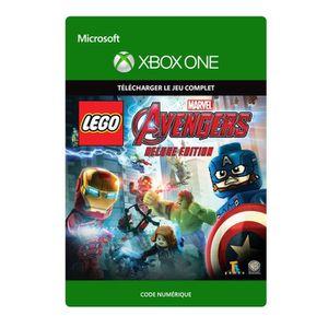 JEU XBOX ONE À TÉLÉCHARGER Lego Marvel Avengers Edition Deluxe Jeu Xbox One à