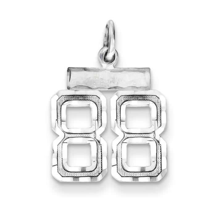Argent Sterling charme-no 88