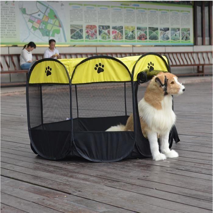 ENCLOS - CHENIL Parc de jeu en tissu pliable pour animal domestiqu