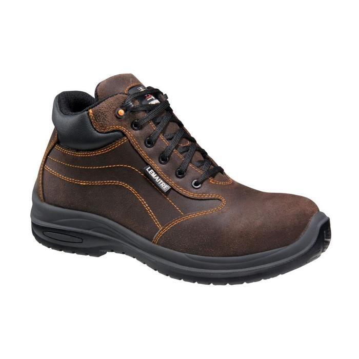 Marron Ci Métalliques Sécurité S3 100Non Lemaitre Chaussures Montantes Src 47 Falcon De nwNm08Ov