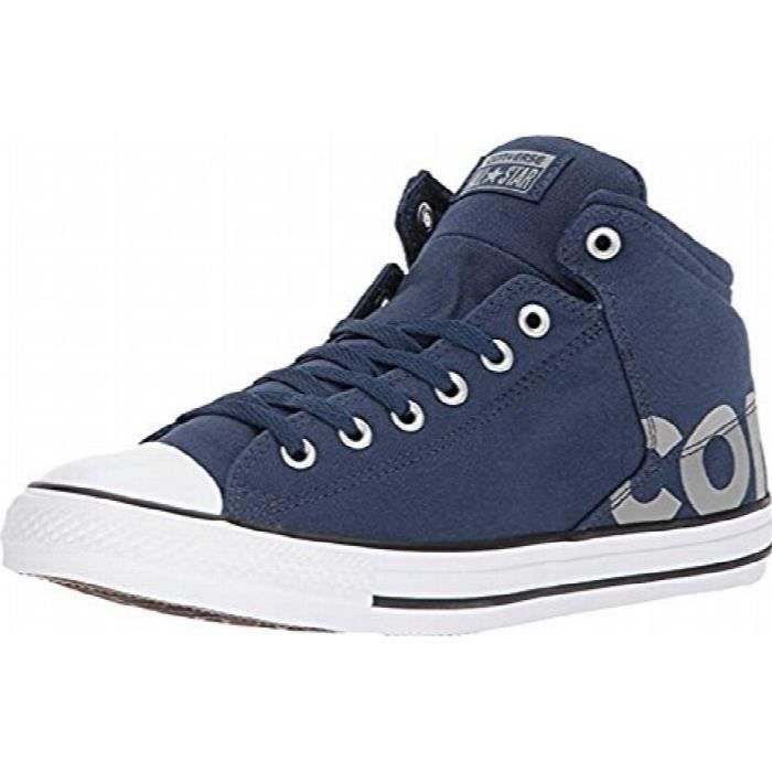 768b310be8063 CONVERSE Hommes Chuck Taylor All Star High Street Hi Chaussures Navy ...