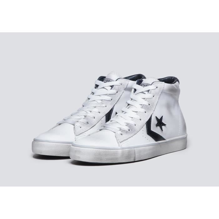 CONVERSE STAR PLAYER PRO LEATHER MID 155096C
