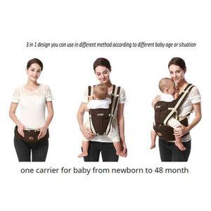 5653f1ff9181 ... PORTE BÉBÉ 0-36 mois porte-bébé ergonomique sangle multifonct ...