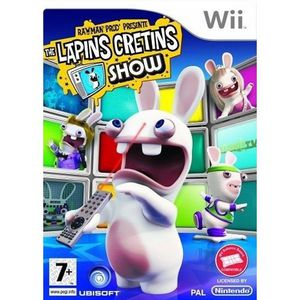 JEU WII RAYMAN PRODUCTIONS PRESENTE : THE LAPINS CRETINS S