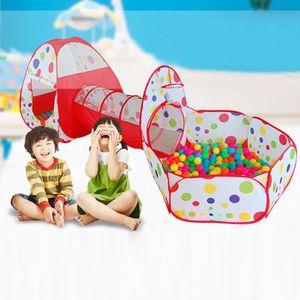 TENTE TUNNEL D'ACTIVITÉ Tunnel de tente pour enfants Game House - Ball Poo
