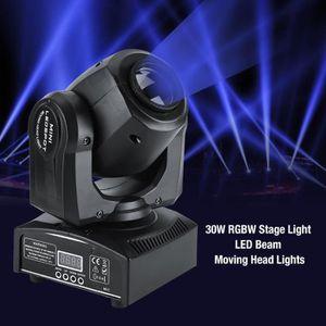 LAMPE ET SPOT DE SCÈNE 30W LED DMX512 Lyres de Scène Disco Pub Fête Effet