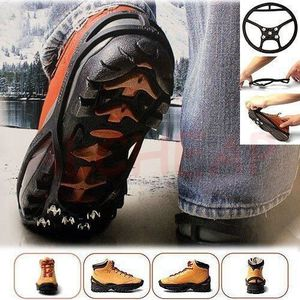 CRAMPON POUR GLACE Paire Crampons Grip Adapatable chaussures 43/48