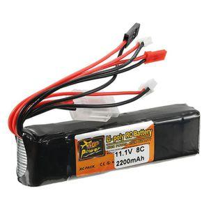 DRONE DRONE ZOP 11.1V 2200mAh 8C 3S Batterie JST Plug Po