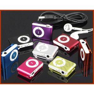 LECTEUR MP3 DierCosy lecteur mp3 clips - couleurs aléatoires