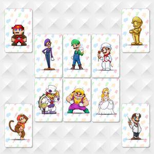 FIGURINE DE JEU NOUVEAU 10 pièces / lot Super Mario Odyssey Amiibo