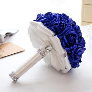 Bouquet de mariage bleu achat vente bouquet de mariage for Bouquet de fleurs pas cher livraison gratuite