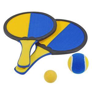 BALLE DE JONGLAGE HUDORA Set de 2 Raquettes 2 Balles
