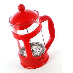 CAFETIÈRE Cafetière à piston 800 ml - Rouge