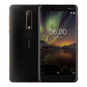 Téléphone portable Nokia 6 2eme génération TA-1054 - Smartphone Déblo