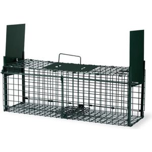 POULAILLER Cage Piège Pliable 2 Portes Petits Mammifere Gaun