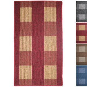 tapis rouge de couloir achat vente tapis rouge de couloir pas cher cdiscount. Black Bedroom Furniture Sets. Home Design Ideas