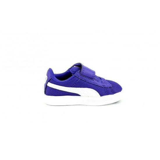 Chaussures Puma Active Lite V Kids Violet Violet - Achat / Vente basket