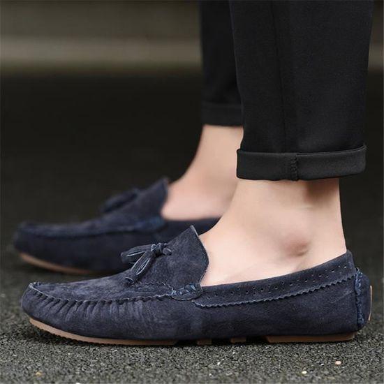 Léger Chaussure Nouvelle Qualité Soulier Supérieure Cuir