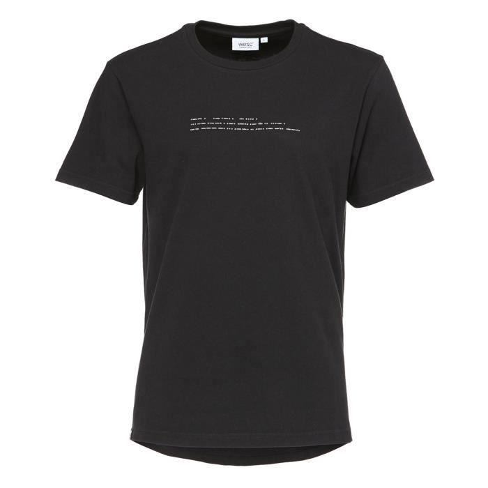 WESC T-shirt Noland - Homme - Noir