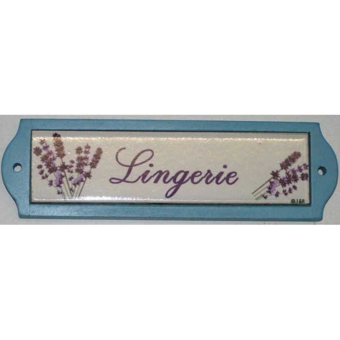 plaque metal de porte ceramique lingerie achat vente plaque de porte m tal c ramique toile. Black Bedroom Furniture Sets. Home Design Ideas