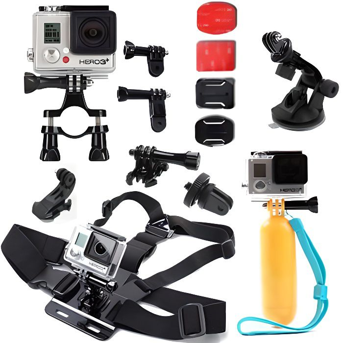 fashion style professional sale order IBROZ Pack accessoires pour GoPro Hero 5,4,3,3+,2,1