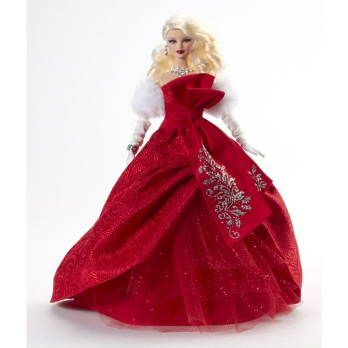 Barbie joyeux no l achat vente poup e cdiscount - Barbie de noel 2012 ...